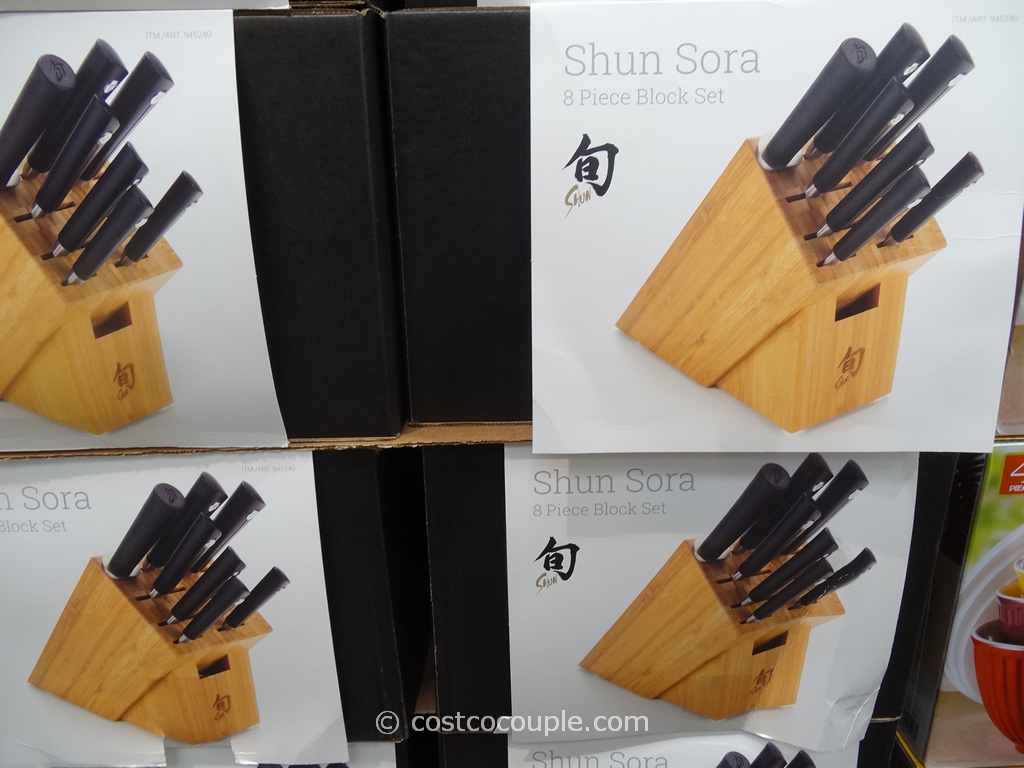 Shun 8-Piece Cutlery Set Costco 2