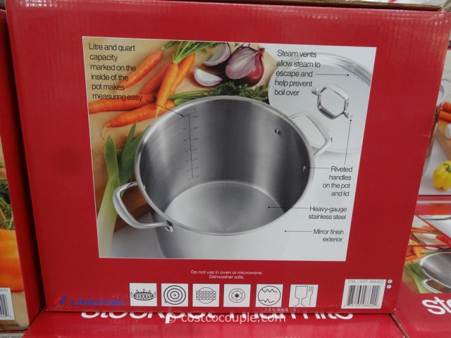 Stainless Steel 16 Qt Stockpot Costco 4