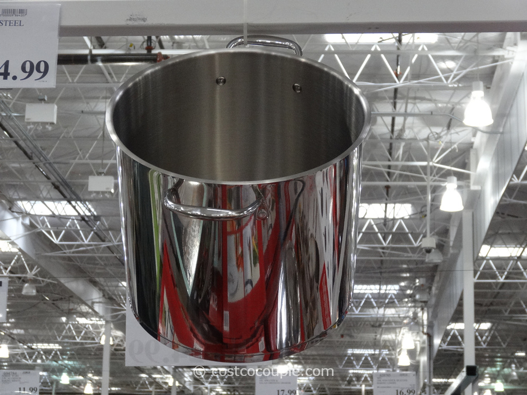 Stainless Steel 16 Qt Stockpot Costco 5
