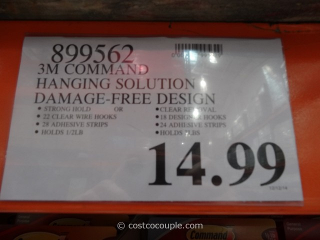 3M Command Hooks Set Costco 1