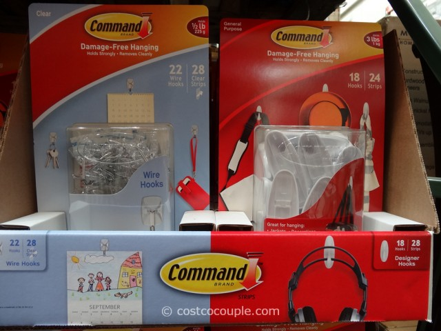 3M Command Hooks Set Costco 2