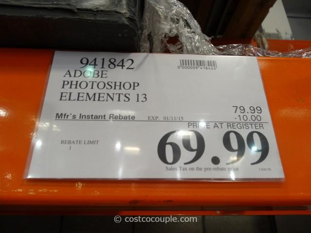 Adobe Photoshop Elements 13 Costco 1