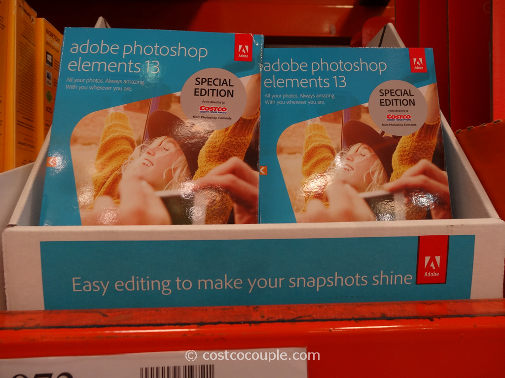 Adobe Photoshop Elements 13 Costco 2