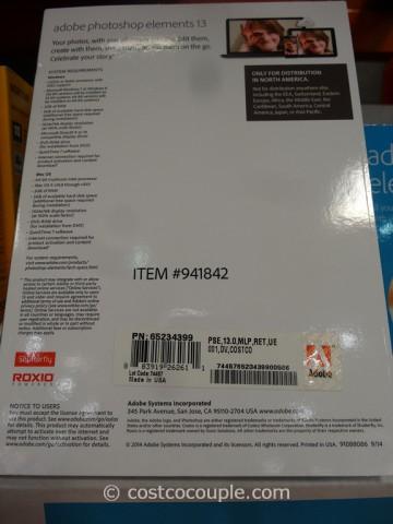 Adobe Photoshop Elements 13 Costco 3