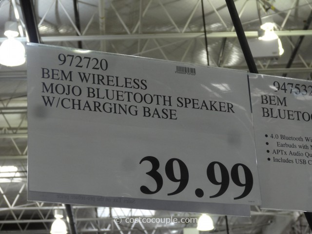 BEM Wireless Mojo Bluetooth Speaker Set Costco 1