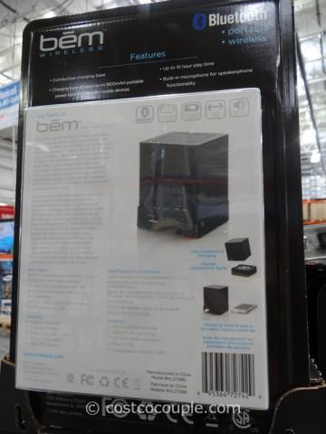 BEM Wireless Mojo Bluetooth Speaker Set Costco 4