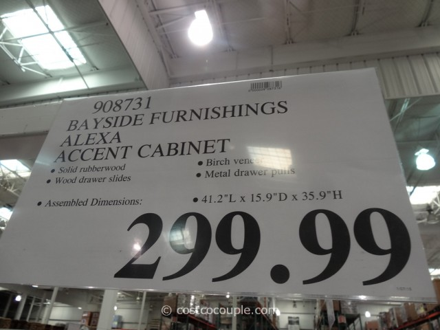 Bayside Furnishings Alexa Accent Cabinet Costco 3