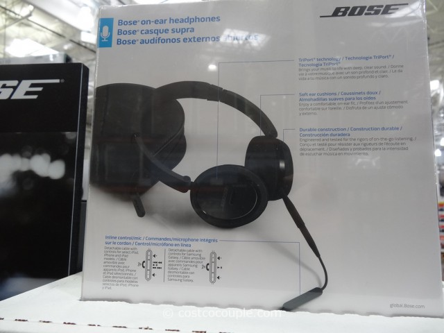 Bose Mobile On-Ear Headphones Costco 3
