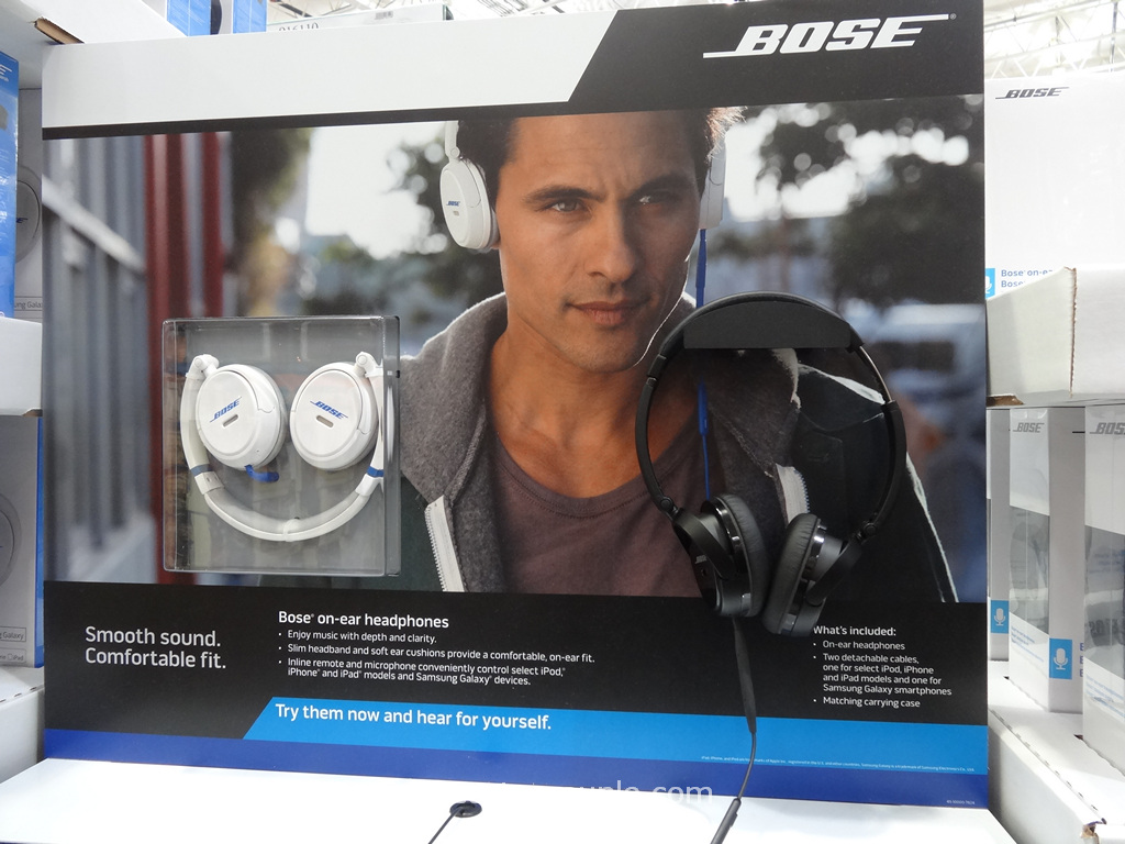 Bose Mobile On-Ear Headphones Costco 4