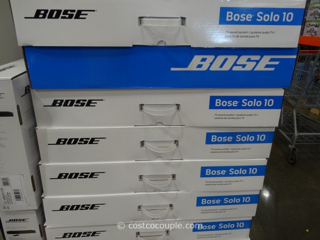 Bose Solo 10 TV Sound System Costco 2