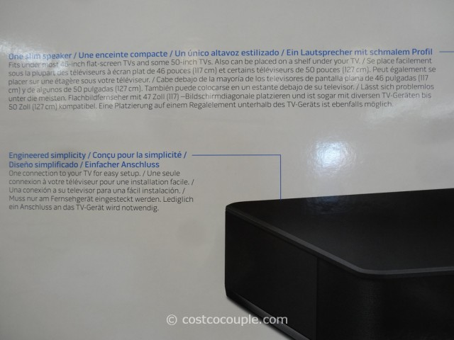 Bose Solo 10 TV Sound System Costco 4