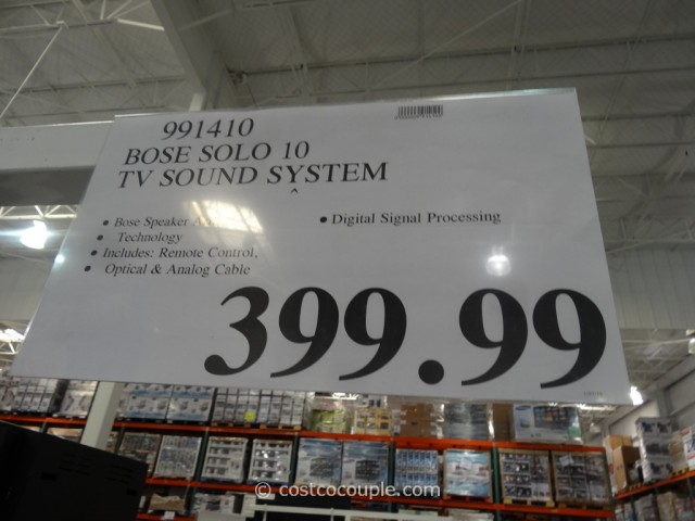 Bose Solo 10 TV Sound System Costco 5