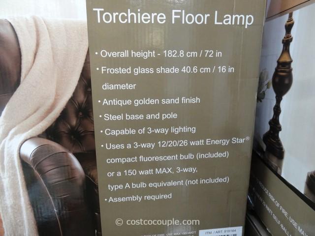 Bridgeport Torchiere Floor Lamp Costco 2