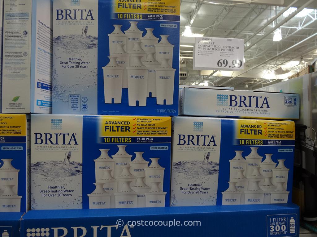 Brita Advanced Pitcher Filters Costco 1