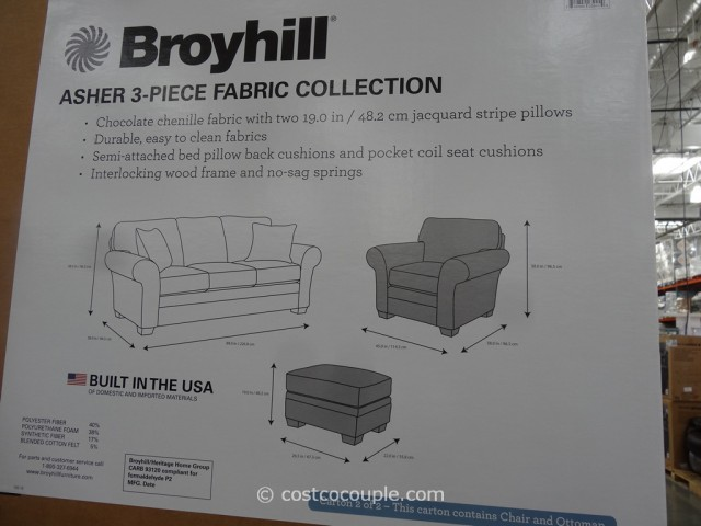 Broyhill Asher 3-Piece Set Costoc 4