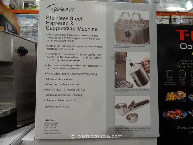 costco cappuccino machine