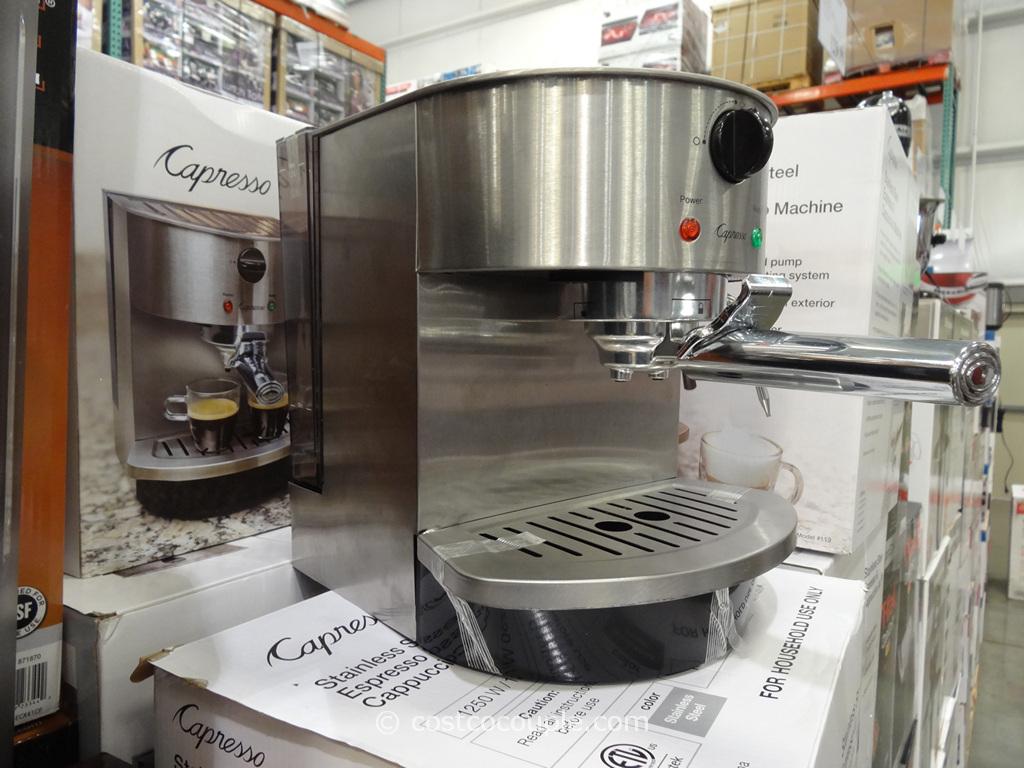 Capresso Espresso and Cappuccino Machine Costco 3
