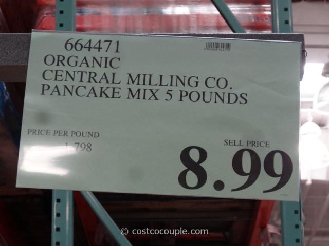 Central Milling Co Organic 6-Grain Pancake and Waffle Mix Costco 1