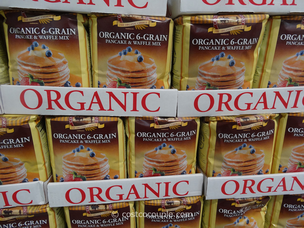 Central Milling Co Organic 6-Grain Pancake and Waffle Mix Costco 2