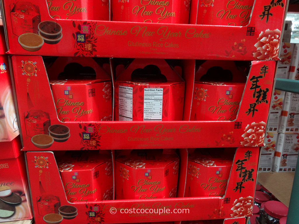 Chinese New Year Glutinous Rice Cakes Costco 2