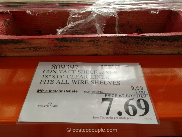 Con-Tact Premium Shelf Liner Costco 1