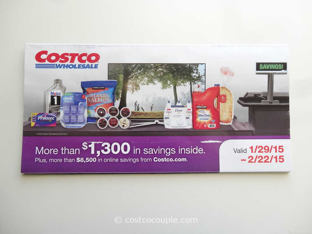 Costco Feb 2015 Coupon Book 1
