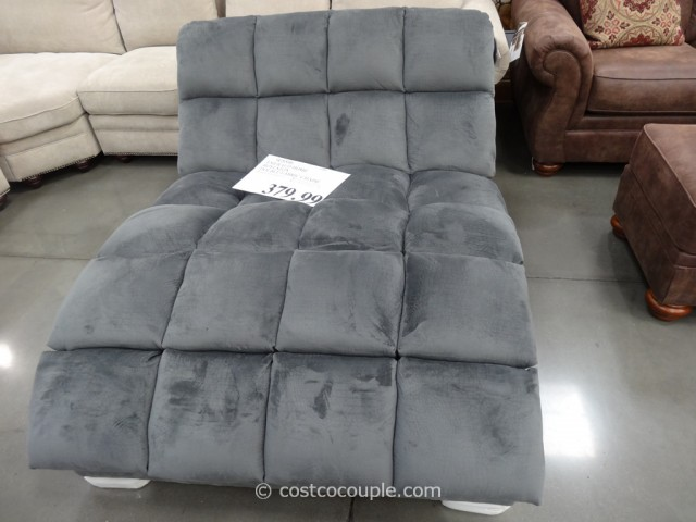 Emerald Home Boylston Double Fabric Chaise Costco 2