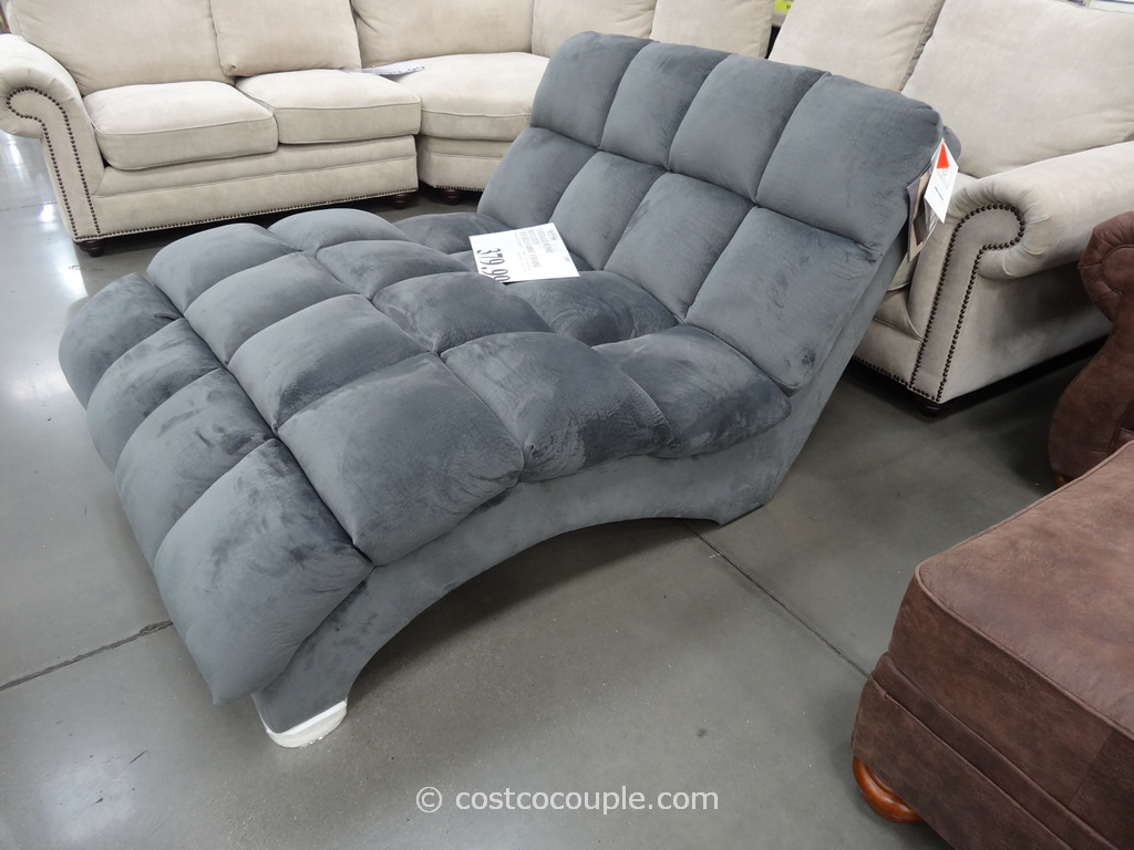 Double chaise lounge indoor furniture - Furniture Season Is Winding Down At Costco But We Still Spotted A Few