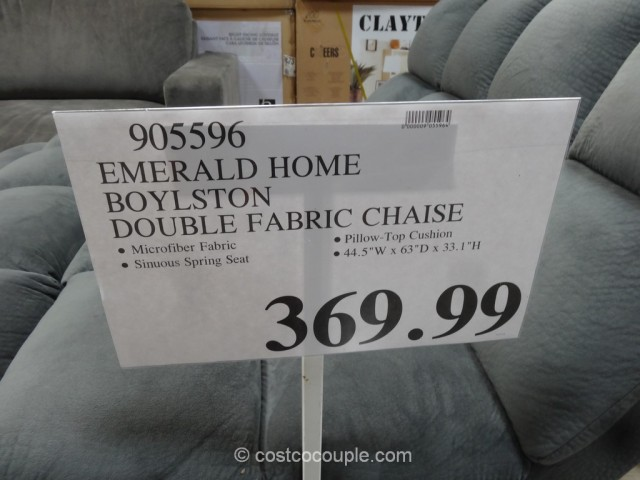Emerald Home Boylston Fabric Chaise Costco 2