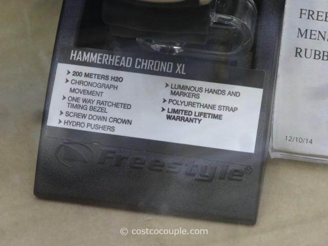 Freestyle Hammerhead Chrono XL Watch Costco 1