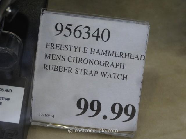 Freestyle Hammerhead Chrono XL Watch Costco 3