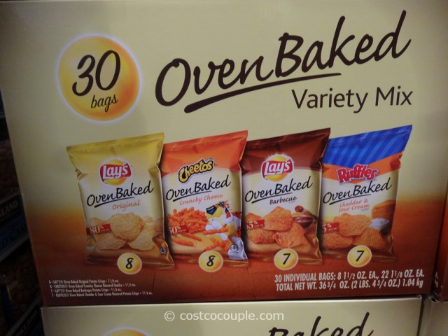 Frito Lay Oven Baked Variety Mix Costco 2