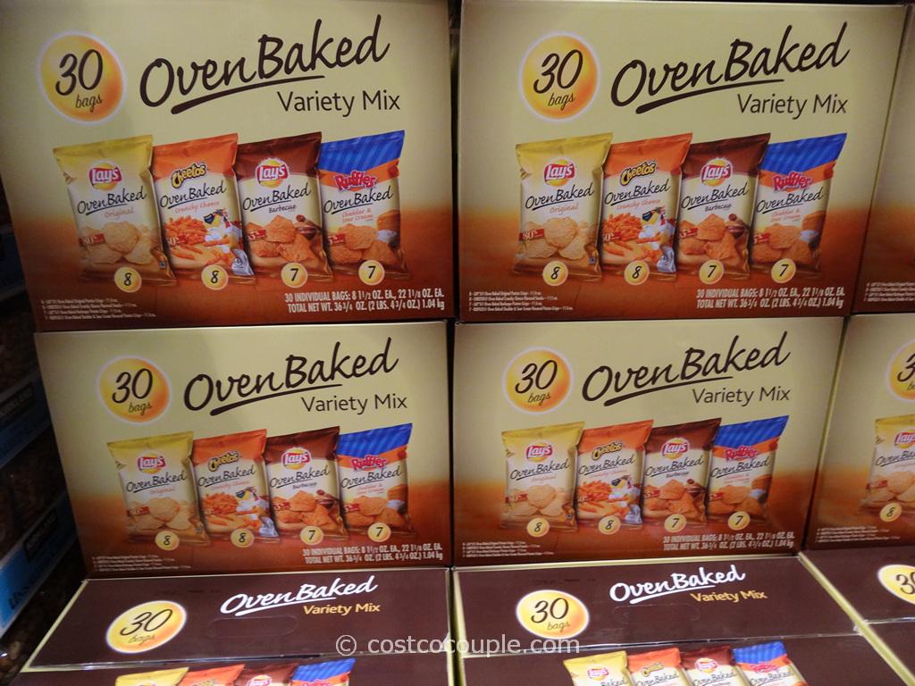 Frito Lay Oven Baked Variety Mix Costco 4