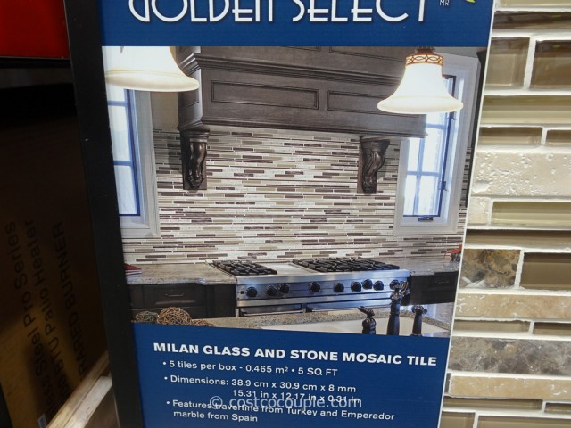 Golden Select Milan Mosaic Tile