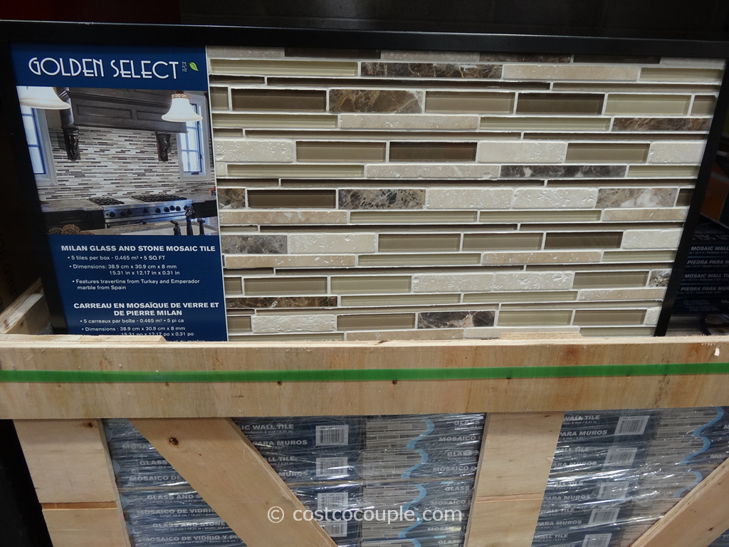 to stop by Costco and check out the Golden Select Milan Mosaic Tile ...