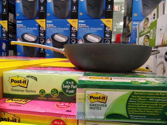 GreenPan Ceramic Non-Stick Wok Costco 2
