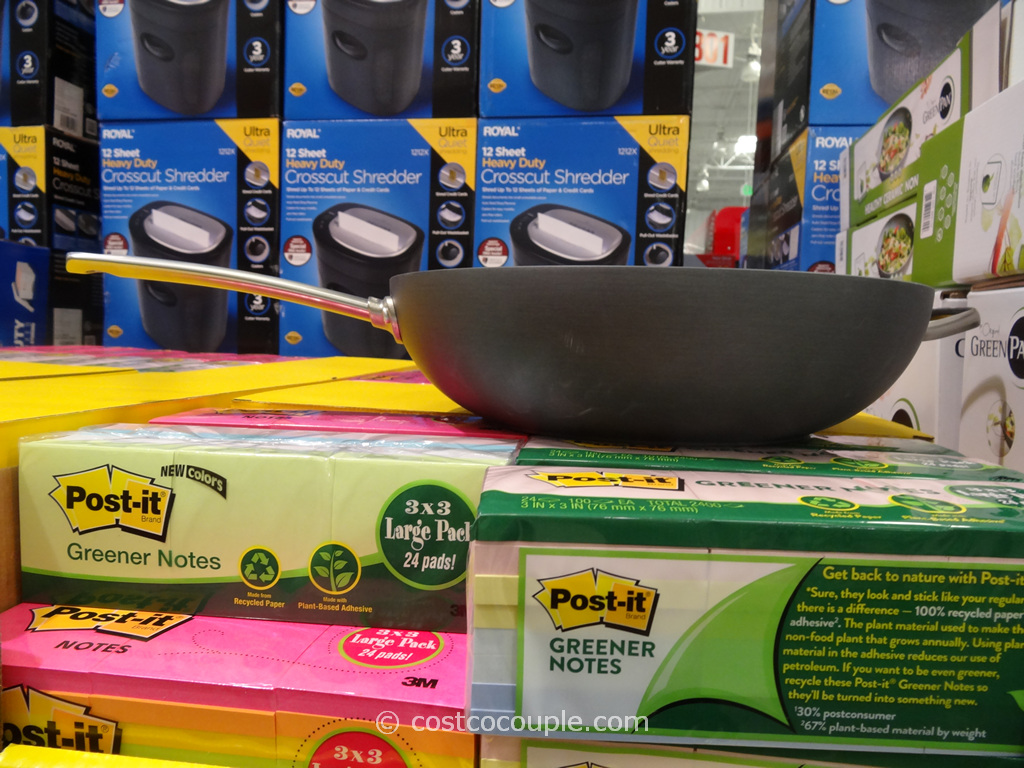 GreenPan Ceramic Non-Stick Wok Costco 2