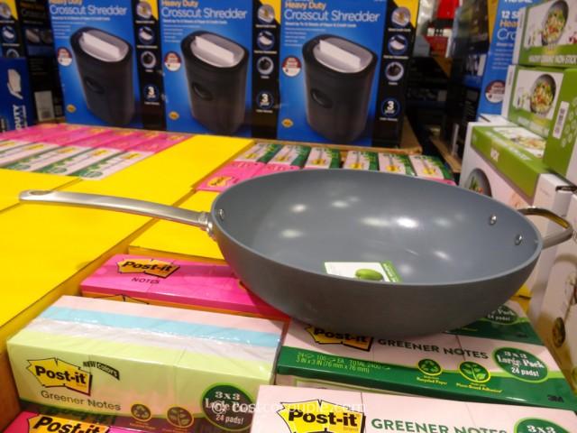GreenPan Ceramic Non-Stick Wok Costco 3