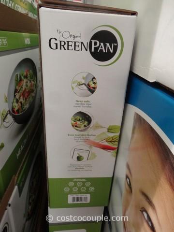 GreenPan Ceramic Non-Stick Wok Costco 4