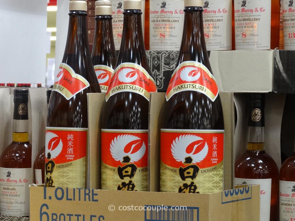 Hakutsuru Junmai Sake Costco 4