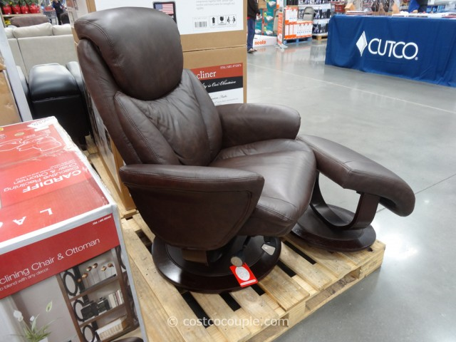 La-Z-Boy Leather Recliner Set Costco 2