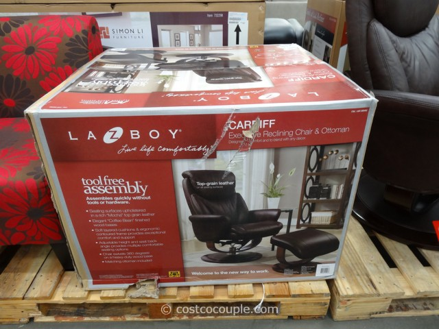 La-Z-Boy Leather Recliner Set Costco 6