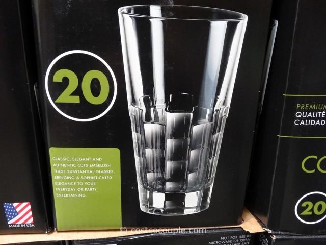 Luminarc 20-Piece Connection Beverage Set Costco 2