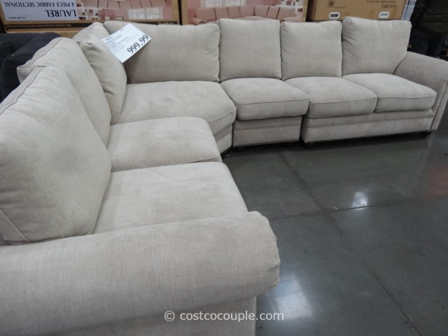 Marks and Cohen Laurel Fabric Sectional Costco 2