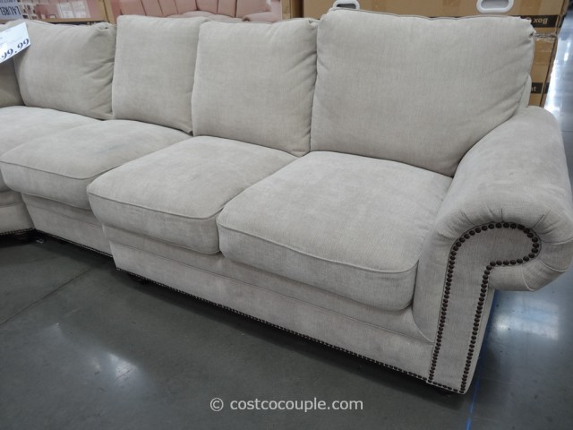 Marks and Cohen Laurel Fabric Sectional Costco 3