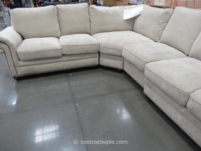 Marks and Cohen Laurel Fabric Sectional Costco 4