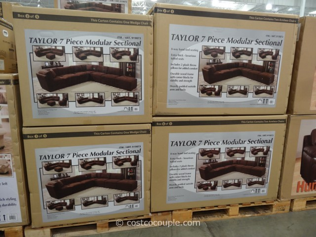 Marks and Cohen Taylor 7-Piece Modular Sectional Costco 2