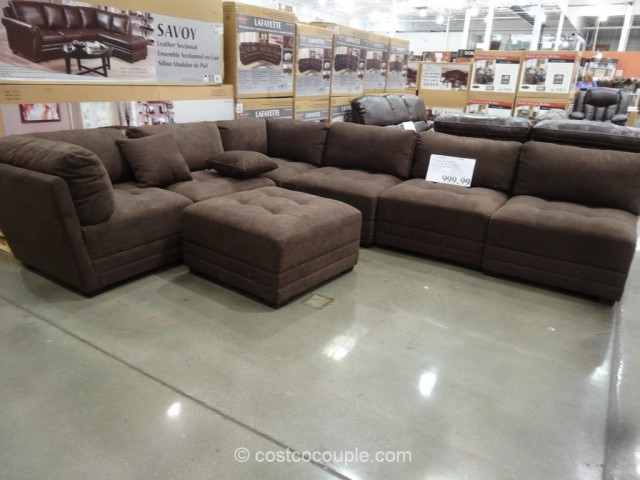 Marks and Cohen Taylor Fabric Sectional Costco 2