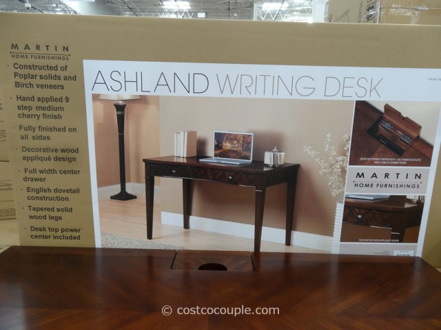 Martin Home Furnishings Ashland Writing Desk Costco 3