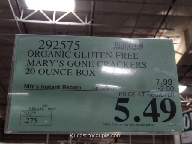 Marys Organic Gone Crackers Costco 1